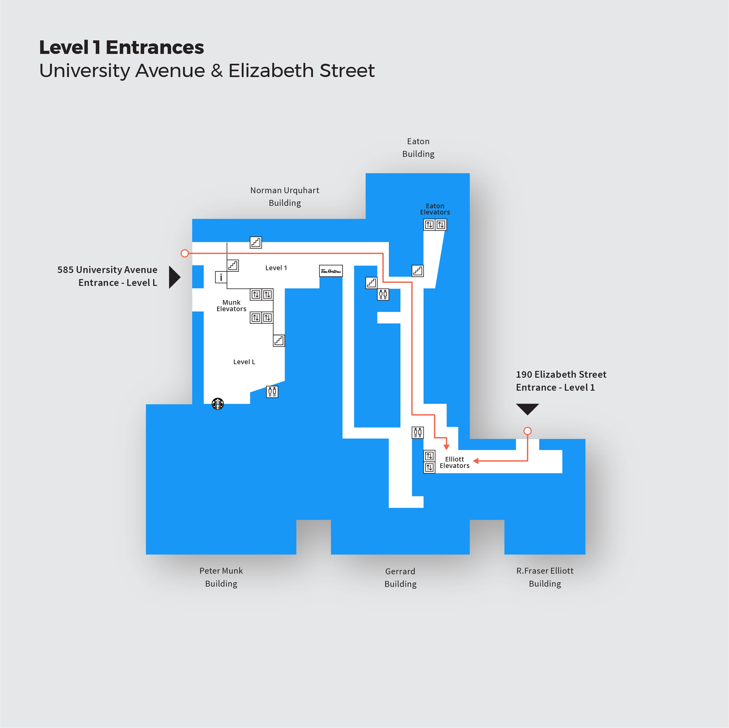 Level 1 Entrances