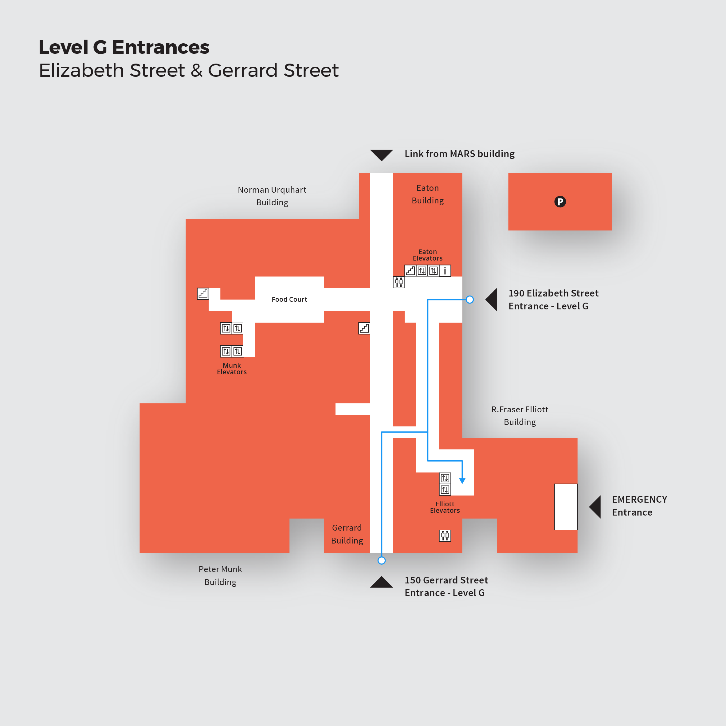 Level G Entrances