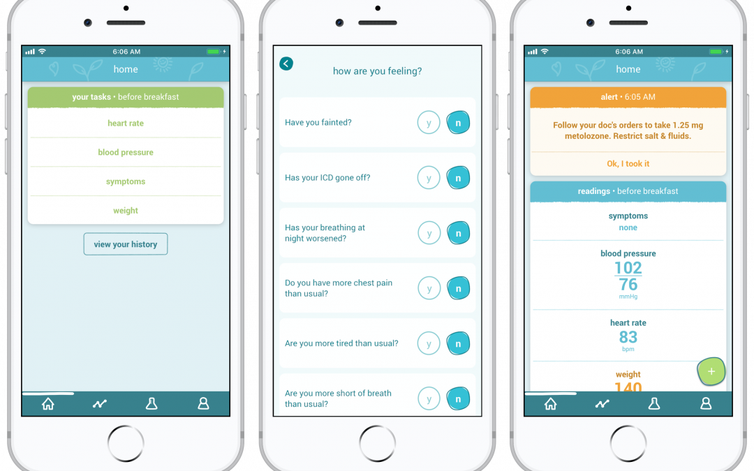 Heart failure app keeps patients safe amidst COVID-19