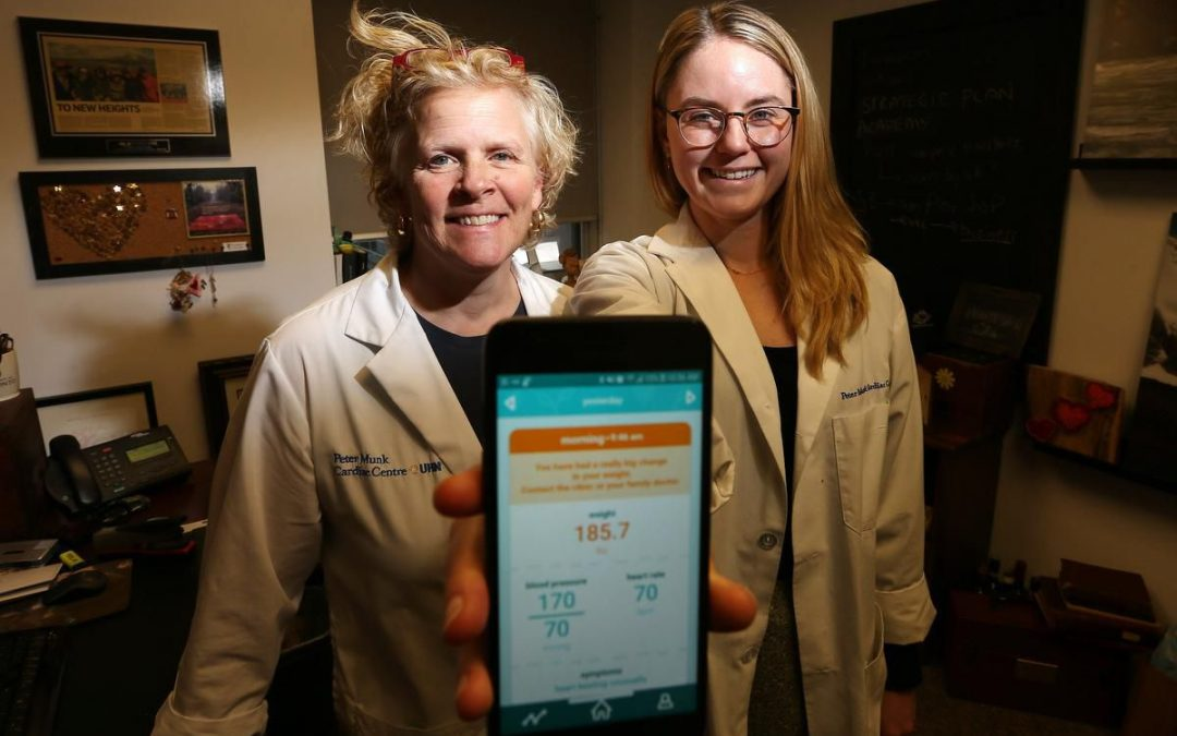 Toronto-based heart health app Medly helps patients monitor symptom changes at home.